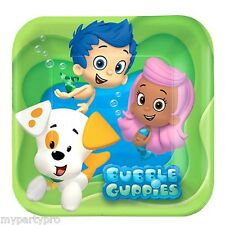 BUBBLE GUPPIES DESSERT PLATES BIRTHDAY PARTY supplies FREE SHIPPING