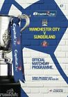 2014 CAPITAL ONE CUP FINAL MAN CITY V SUNDERLAND OFFICIAL PROGRAMME
