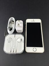 Apple iPhone 5S 16GB A1530 White/Gold Smartphone UNLOCKED Good Condition!