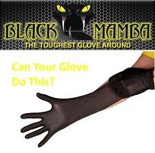 Black Mamba Nitrilo Guantes Desechables Medio de tatuaje más difíciles en torno a la mecánica
