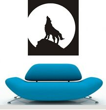 ONE PIECE LARGE WOLF Wall Quote Art Decal Vinyl Sticker Removable Decor DIY