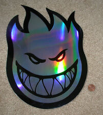 "SPITFIRE PRISM Logo Skate Sticker 11.5 X 8"" great for skateboards helmets decal"