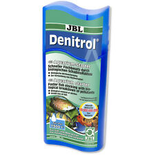 JBL Denitrol 250ml Live Filter Starter Bacteria Removes Ammonia Nitrite New Tank