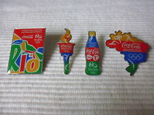 4 COCA COLA OLYMPIA RIO 2016 PIN LIMITED EDTION