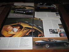TVR Griffith, Ferrari 375MM, Aston Martin DB3S, Lagonda V12, Le Mans, LG6, DB2