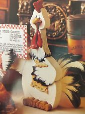 Recipe Rooster Painting Pattern Packet by Debbie Mitchell