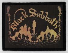 BLACK SABBATH PATCH / SPEED-THRASH-BLACK-DEATH METAL