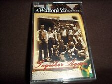 Vtg.Cassette Tape - A Walton's Christmas, Together Again -1999     #CT40