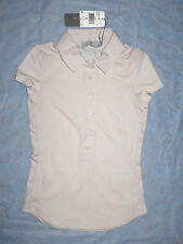 ADIDAS BY Stella Mccartney Te Clima Polo Beige Nude Color MSRP $85 Sz XS NEW