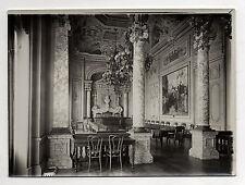 PHOTO Vintage - SENS FRANCE YONNE - Hôtel de Ville Salle du Conseil 1912 Chaises