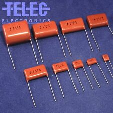 5 PCS. Metallized Polyester Film Capacitor 0,012uF/400V