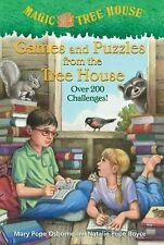 Magic Tree House Games and Puzzles from the Tree House by Mary Pope Osborne PB