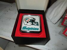 Miami Dolphins  Medallion Light by Armbruster products NEW,old ,overstock CAR