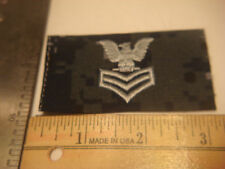 NEW NIP VANGUARD US Navy CAP PATCH DEVICE BLUE Digital NWU E-6 PO1 SHADOW BOX