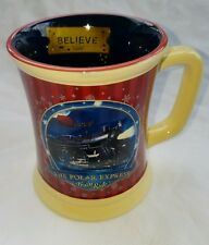 The Polar Express Believe Train Ride Hot Chocolate Mug Cup Warner Bros