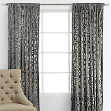 "50% OFF! Z Gallerie Monaco Curtain Panels PAIR (Two) - Silver 54"" x 96"""
