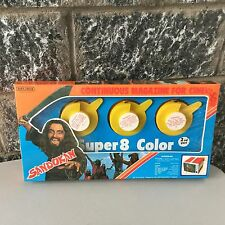 VINTAGE 80s# SANDOKAN SUPER 8 COLOR MUPI CINEVISOR # SEALED BOX