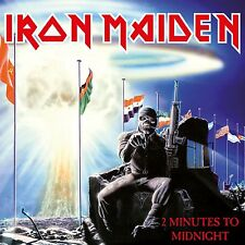 "IRON MAIDEN 2 MINUTES TO MIDNIGHT VINILE 7"" NUOVO E SIGILLATO"