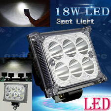 Super Bright LED 18W Car Truck Boat Offroad Work Light SUV Driving Fog Spot Lamp