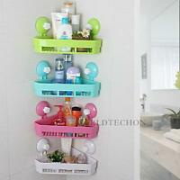 Shabby Toilet Bathroom Shower Caddy Kitchen Corne Holder Storage Shelves Shelfs