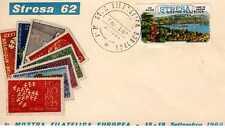 ITALIA: FDC 1^ MOSTRA FILATELICA EUROPEA 15-18 SETTEMBRE 1962