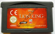 Game Boy Advance-GBA-Disney 's-The Lion King-solo módulo-usado, bien