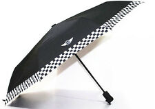 BMW Mini Cooper Portable Automatic Folding Umbrella Umbrellas Checkered Style