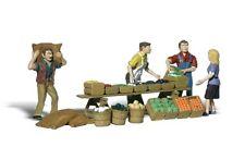 Woodland Scenics A2750 O Train Figures Farmers Market