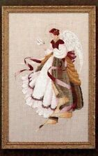 Cross Stitch Chart/Pattern - Angel of Grace - Lavender & Lace (LL15)
