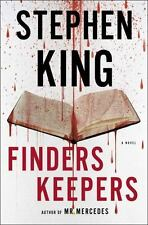 Finders Keepers: A Novel (The Bill Hodges Trilogy), King, Stephen, Good Conditio