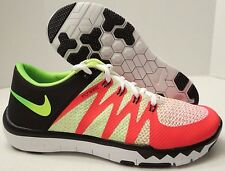 NIKE FREE 5.0 V6 AMP 723939 176 ORANGE-GREEN RARE COLOR (MENS 10) *SAMPLE