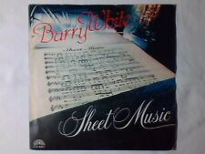 "BARRY WHITE Sheet music 7"" ITALY LOVE UNLIMITED ORCHESTRA"