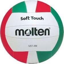 MOLTEN v5t-r6 serie Soft Touch Luce In Pelle Scuola/Club Allenamento Pallavolo.
