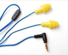 Yellow Plugfones Orignal Line NOISE ISOLATING EARBUDS EARPLUGS HEADPHONES