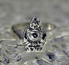 LOOK Buddha Buddah Sterling silver ring Jewelry good luck