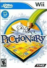 Pictionary - Udraw - Nintendo Wii THQ Video Game