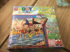 Vintage Noddy's Toyland Picture Puzzle Blocks