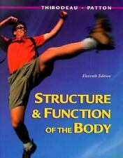 Structure and Function of the Body Thibodeau, Gary A., Patton, Kevin T. Hardcov