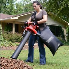Leaf Vacuum Shredder Blower Handheld Bag 2 Speed Electric Mulcher Yard Lawn Vac