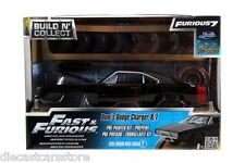 JADA 1:24 BUILD N' COLLECT FAST & FURIOUS FURIOUS DOM'S DODGE CHARGER R/T 97363