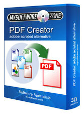 PDF Creator - Convert Word Adobe Reader Compatible Merge Split Edit Pro Software