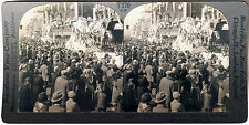 Keystone Stereoview of the Mardi Gras in New Orleans, LA from the 1930s T400 Set