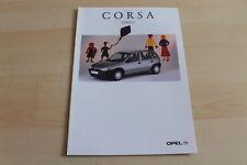 90271) Opel Corsa B - Family - Prospekt 04/1996