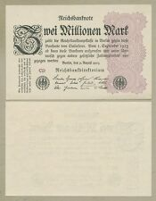 GERMANY - 2 Mn Marks  1923  P104b  AUNC  ( Banknotes )