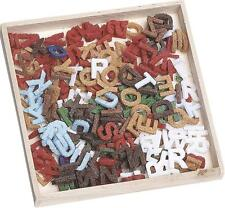 FELT ALPHABET SHAPES 10mm  PACK OF 250 LETTERS. ASSORTED COLOURS