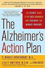 The Alzheimer's Action Plan: The Experts' Guide to the Best Diagnosis -ExLibrary