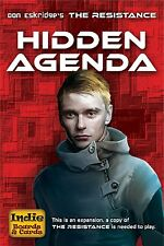 The Resistance: Hidden Agenda Card Game Expansion Indie Boards & Cards
