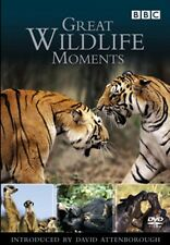 Great Wildlife Moments David Attenborough New DVD Region 4