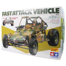 Tamiya 1:10 Fast Attack Vehicle (2011) EP RC Car Buggy 2WD Off Road #58496
