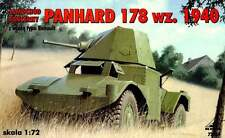 PANHARD 178 - WW II ARMOURED CAR (FRENCH ARMY 1940 MARKINGS) 1940 1/72 RPM